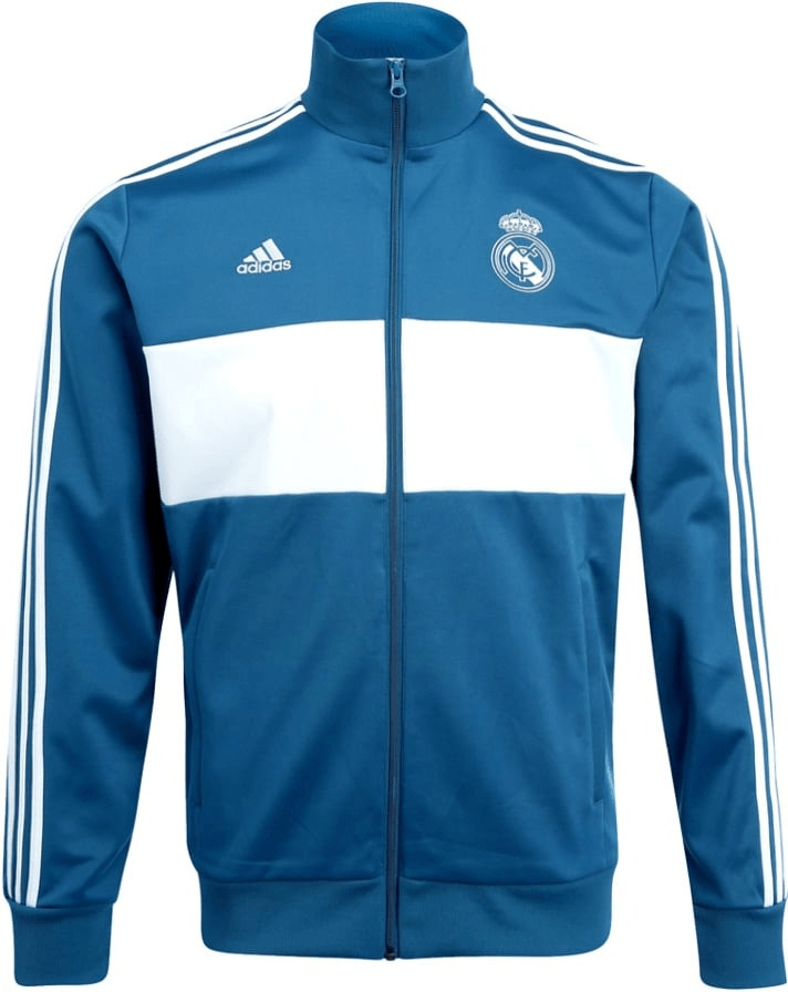 Adidas Real Madrid 3-Streifen Trainingsjacke