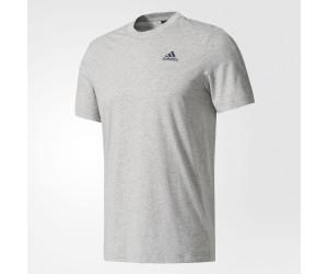 Adidas Essentials Base T-Shirt Medium Grey Heather/Collegiate Navy (S98741)