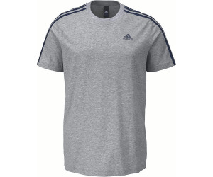 Adidas Essentials 3-Strips T-Shirt Medium Grey Heather (S98722)