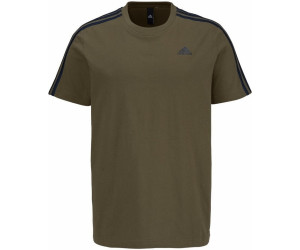 Adidas Essentials 3-Strips T-Shirt Trace Olive (BS2197)