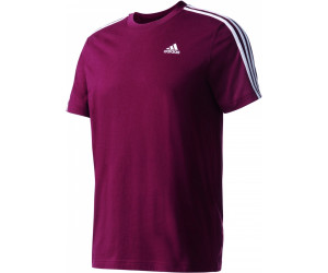 Adidas Essentials 3-Strips T-Shirt Maroon (S98719)