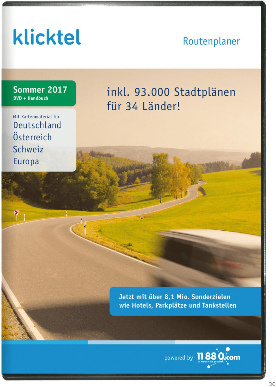 KlickTel Routenplaner Sommer 2017