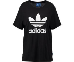 Adidas Boyfriend Trefoil T-Shirt black (AJ8351)