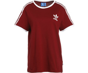 adidas originals t-shirt colored tee bordeaux