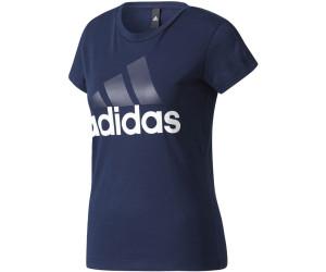 Adidas Essentials Linear T-Shirt Collegiate Navy/White (BR2559)