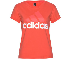 Adidas Essentials Linear T-Shirt Easy Coral /White (BR2564)