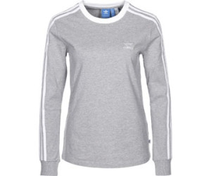 Adidas 3-Streifen Longsleeve Medium Grey Heather (BK5874)