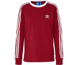 Adidas 3-Streifen Longsleeve Collegiate Burgundy (BP9511)