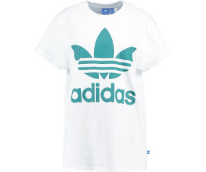 Adidas Big Trefoil-T-Shirt White/Sub Green (BR9822)