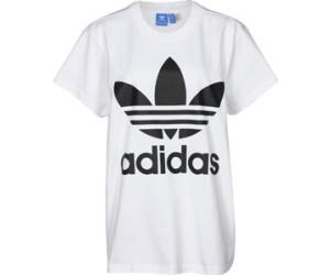 Adidas Big Trefoil T Shirt WhiteBlack (BR9820) ab 33,99