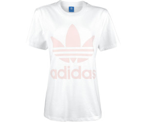 Adidas Big Trefoil-T-Shirt White/Icey Pink (BR9825)