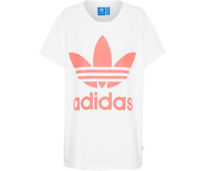 Adidas Big Trefoil-T-Shirt White/Turbo (BR9827)