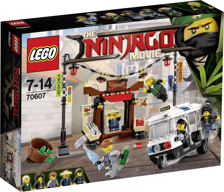 LEGO Ninjago - Verfolgungsjagd in Ninjago City (70607)