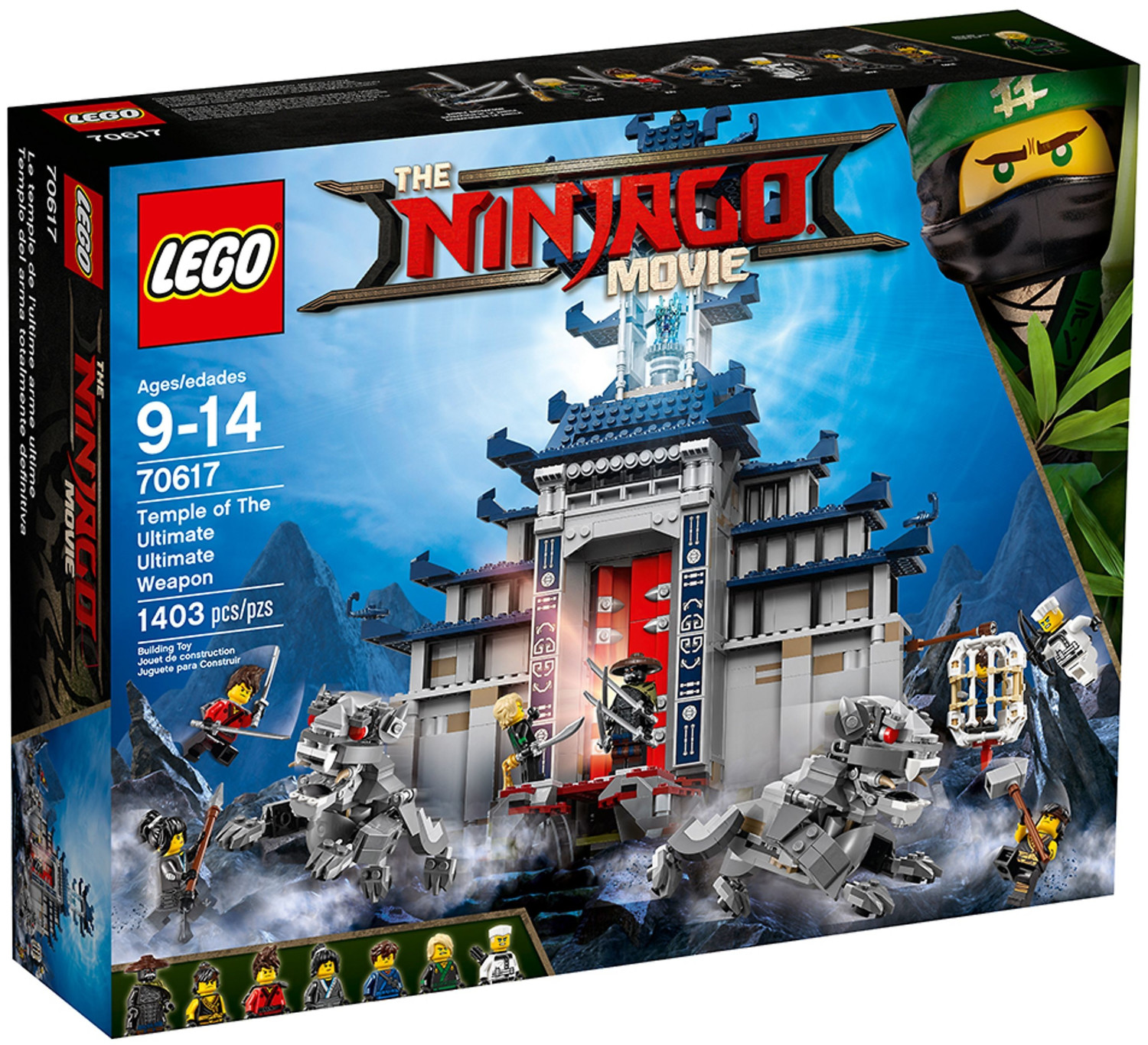 LEGO Ninjago - Ultimatives Tempel-Versteck (70617)