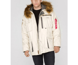 Alpha Industries Mountain Parka off white