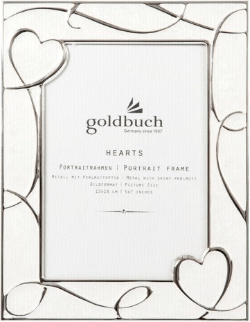 Goldbuch Metallrahmen Hearts 13x18