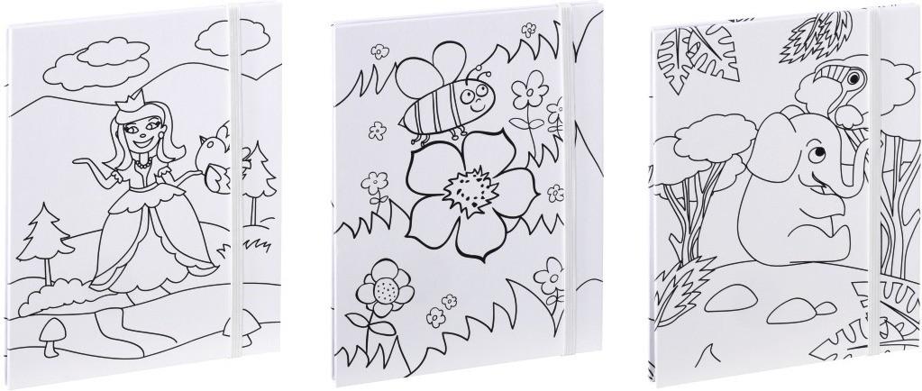 Hama Leporello-Set Colorare für 3x12 Fotos in 1...