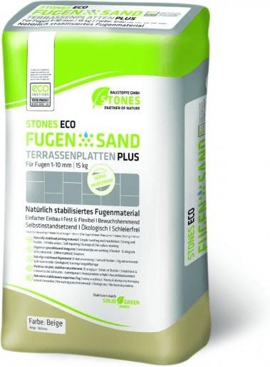 Stones Eco Fugensand 1-10mm 15kg beige
