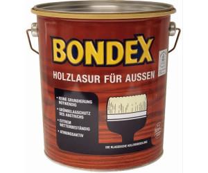 Bondex Holzschutzlasur 4 l Ebenholz