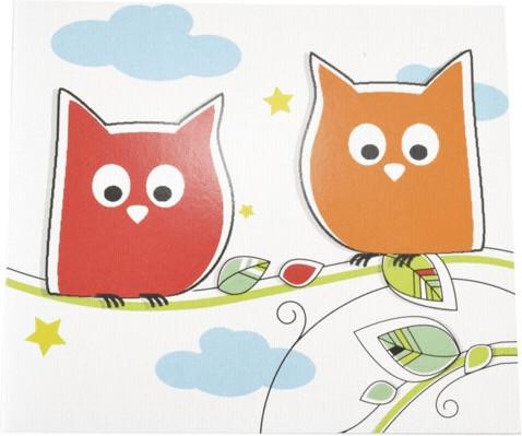 Image of Daiber 1x25 Portrait Presentation Folder 13x18 owls