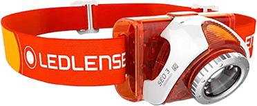 LED Lenser SEO 3 orange
