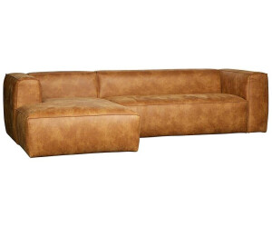 Woood bean eckcouch links cognac 375689 c ab for Eckcouch links