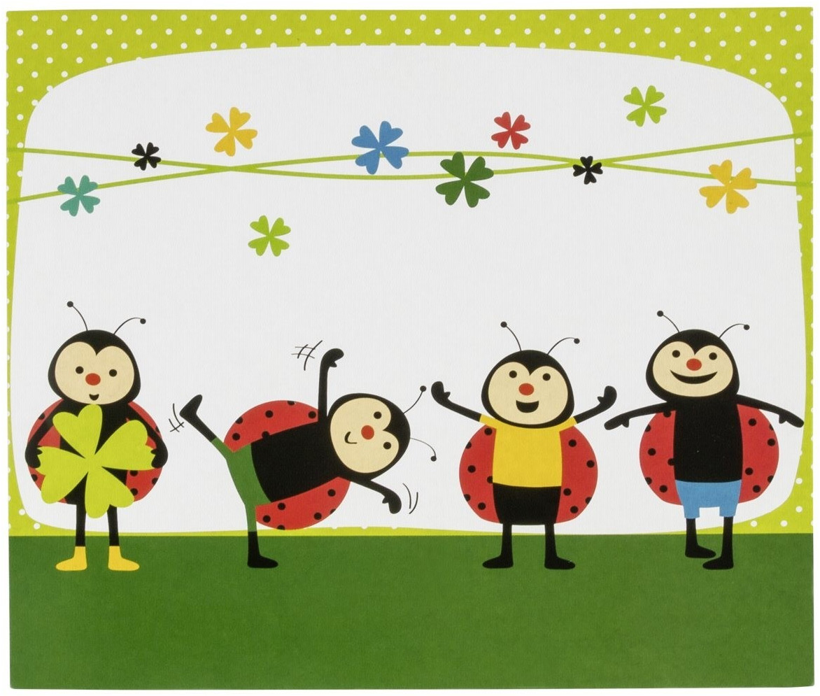 Image of Daiber 1x25 Portrait Presentation Folder 13x18 ladybug