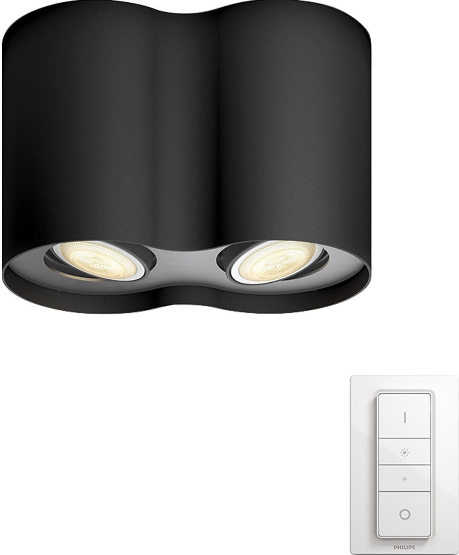 Philips Connected Luminaires Hue Pillar Spot schwarz (56332/30/P7)