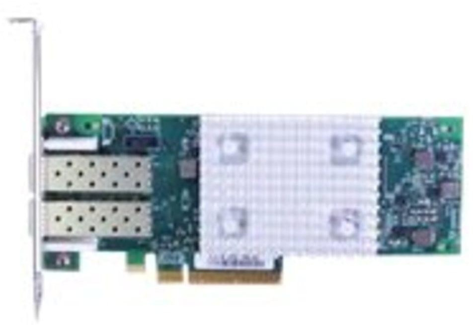 Lenovo 01CV760 Adaptador y Tarjeta de Red Fibra 16000 Mbit/s Interno - Accesorio de Red (Interno, Alámbrico, PCI Express, Fibra, 16000 Mbit/s, Verde)