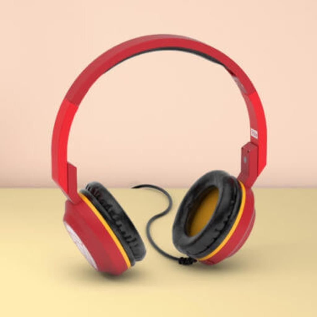 Image of Maikii Tribe Pop Headphones Iron Man