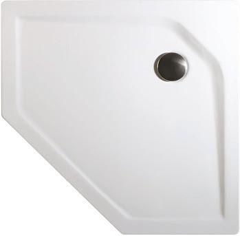 Schulte Duschwanne Fünfeck extra-flach 90 x 90 cm (D20097)