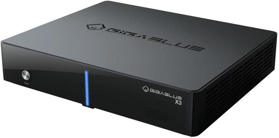 GigaBlue HD X3 SCT Linux E2 1x DVB-S2 + 1x DVB-C/T