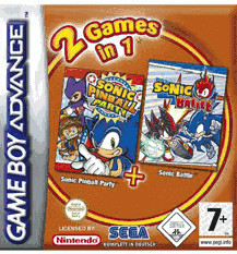 Sonic Pinball Party & Sonic Battle (GBA)