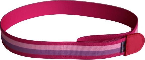 Ed&Kids Kindergürtel Streifen pink/rosa