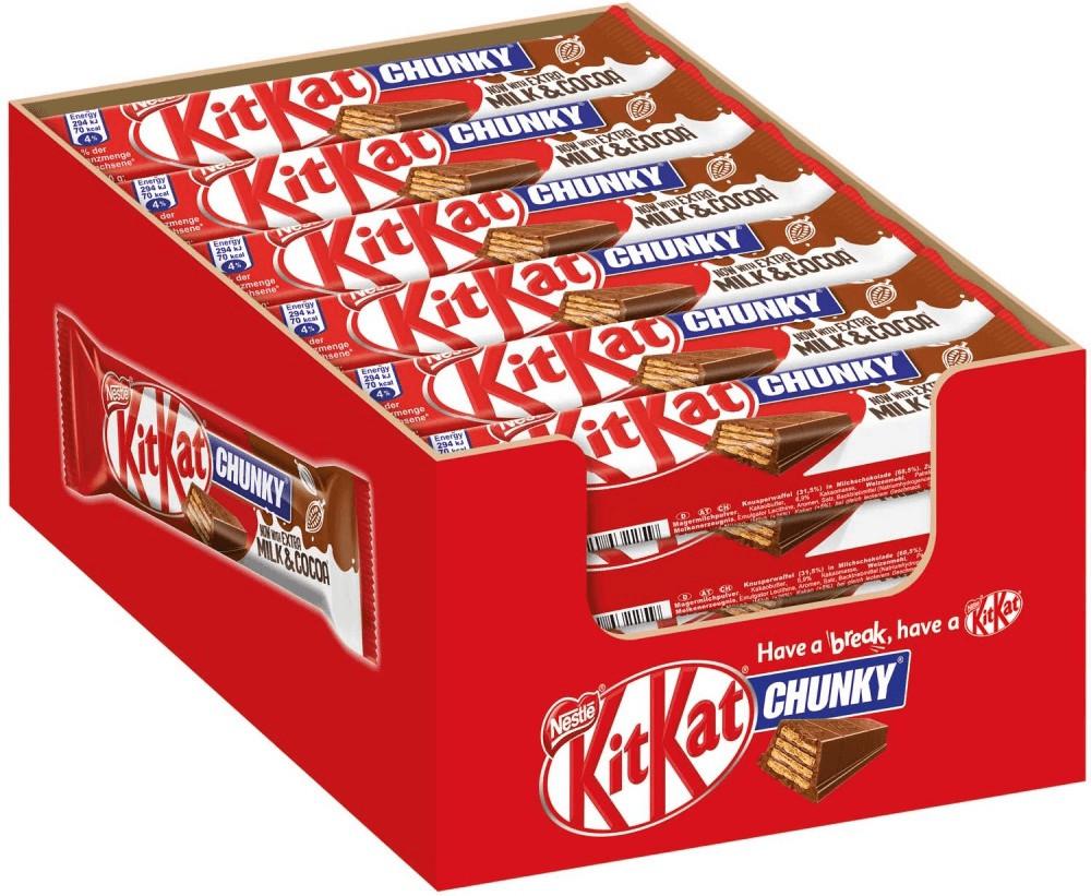 Nestlé KitKat Chunky (24 x 40 g)