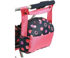 Bayer CHIC 2000 Puppen Wickeltasche Pink 85325