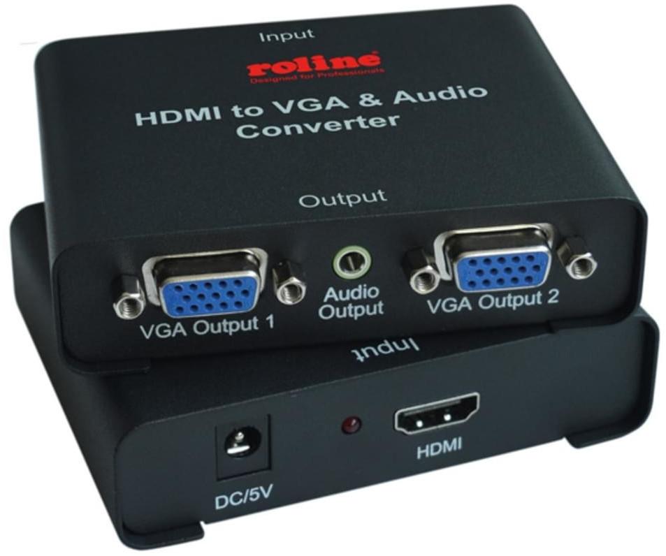 #Roline HDMI zu VGA Video-Splitter  (14.01.3526)#