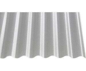 St/ärke 3,0 mm Breite 1045 mm Wellplatte Farbe Glasklar Profil 76//18 Lichtwellplatte Material Acrylglas Lichtplatte