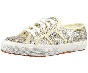 2750- PAIWREFLEX S003IM0, Damen Sneaker, Gold (Gold-Silver 929), EU 40 Superga