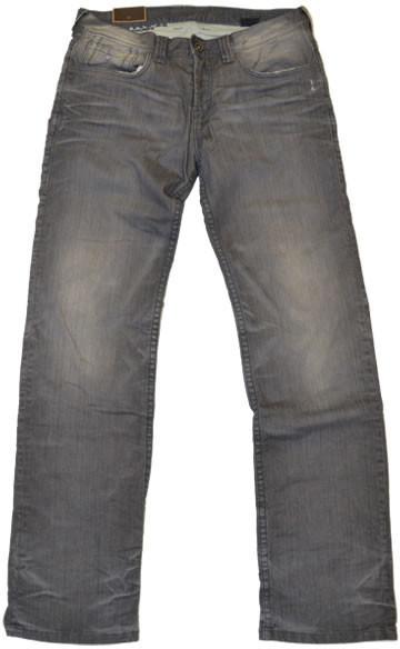 Rokker Rebel Jeans grau