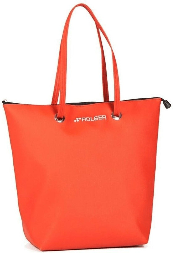 Rolser Shopping Bag Superbag red