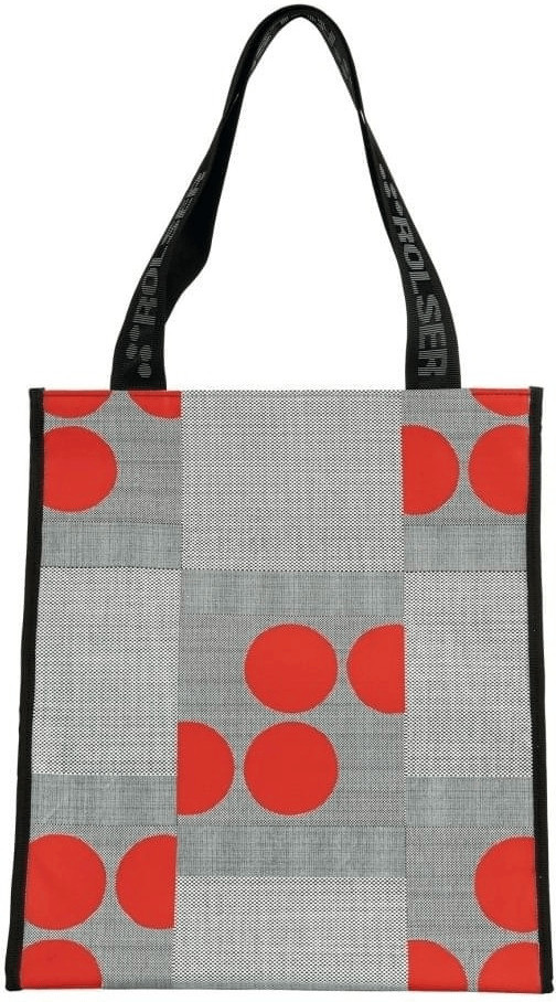 Rolser Shopping Bag Logos red