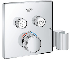Blanco Cuadrado Grohe 29157LS0 Grohtherm Smartcontrol Termostato con 3 Chorros Regulables