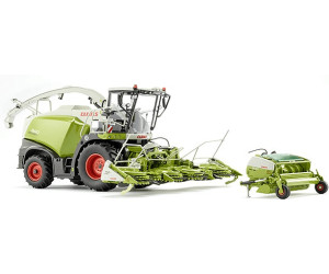 Modellbau Jaguar ~ Wiking claas jaguar 860 feldhäcksler mit orbis 750 und pick up 300