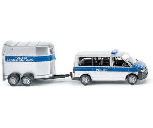 Volkswagen 1500 Variant Polizei Zoll Modell von Vitrine 78 Wiking H0 ohne