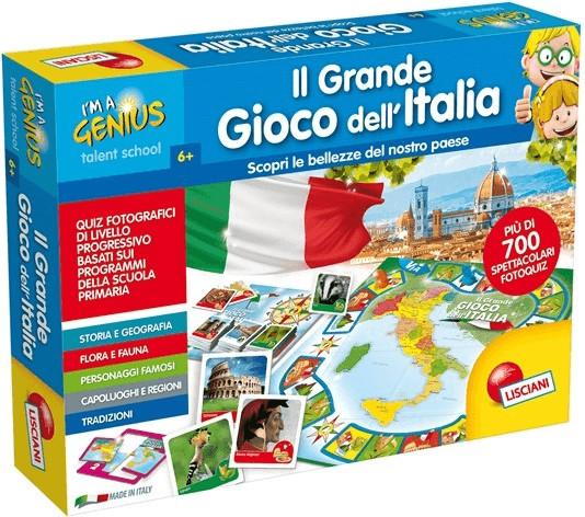Lisciani I'm a Genius Il Grande Gioco dell'Italia (56453)