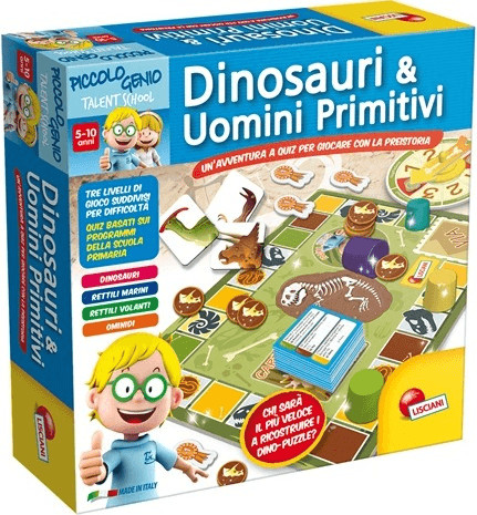 Lisciani Piccolo Genio Ts Dinosauri e Primitivi