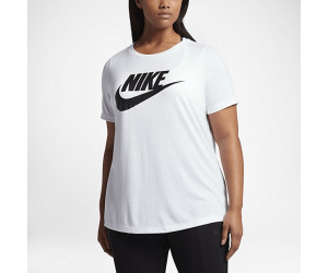 Nike Sportswear TShirt Camo Plus Size white (876609-100)