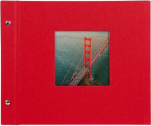 goldbuch schraubalbum bella vista 30x25 40 rot wei e seiten ab 12 51 preisvergleich bei. Black Bedroom Furniture Sets. Home Design Ideas