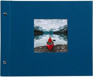 goldbuch schraubalbum bella vista 30x25 40 blau wei e seiten ab 11 00 preisvergleich bei. Black Bedroom Furniture Sets. Home Design Ideas